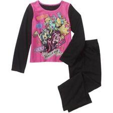Monster High Girls' Licensed 2-Pc Fleece Pajama Set Size 10-12
