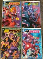 Justice League No Justice (2018) # 1-4 1st Prints Complete Lot Snyder Tynion