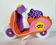GROOVY GIRLS Dolls plush Groovin' SCOOTER motorcycle Manhattan Toy Co