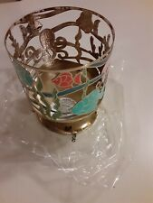 Brand New Bath and Body Works 14.5 oz 3-Wick Candle Holder Underwater Ocean