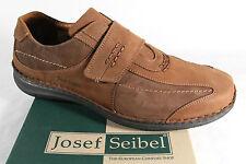 Seibel Hombre Mocasines Zapatos Zapatillas Calzado Deportivo Braun Piel Nuevo