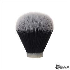 Maggard Razors 24mm Black & White Synthetic Shaving Brush Knot Only