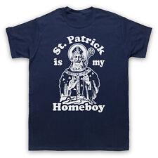 Día de San Patricio San Patricio es mi Homeboy Irlandés Saint Niños Camiseta Para Hombre Mujer