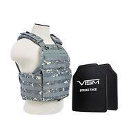 VISM BPCVPCV2924D III+ BODY ARMOR BALLISTIC PLATE CARRIER 10X12 PLATE DIGITAL CA