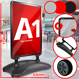 Kundenstopper Gehwegaufsteller Plakatständer Werbetafel Werbeträger A1