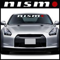 Nismo windshield decal sticker for Nissan Sentra Altima 200SX 350Z Murano WRO