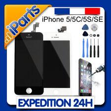 ECRAN LCD RETINA VITRE TACTILE IPHONE 5 / 5C / 5S / SE + OUTILS et FILM