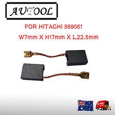 Carbon Brushes For Hitachi 999061 Grinder 7X17X22.5mm G23MR G18SCY AU seller