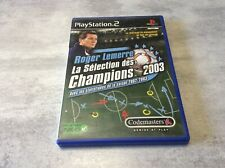 PS2 Roger Lemerre Sélection Des Champions 2003 PLAYSTATION 2 SONY PAL FR COMPLET
