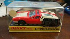 DINKY TOYS 187 1/43 DE TOMASO MANGUSTA BOX VERY GOOD VINTAGE