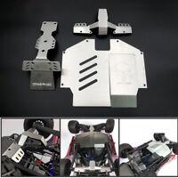 Stainless Steel Chassis Armor Skid Plate for 1/7 TRAXXAS Unlimited Desert Racer