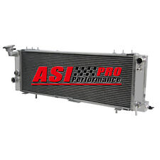 3 ROW ALUMINUM RADIATOR FOR 94-01 JEEP CHEROKEE XJ 4.0L TRANS COOLER DRIVER SIDE