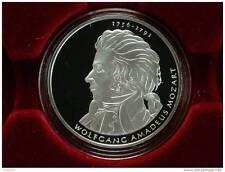 """10 Euro - Deutschland - 2006 Silber  in Polierte Platte """"Wolfgang Amadeus Mozart"""
