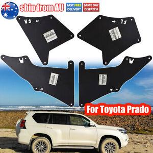 4X Splash Guards Mud Flaps For Toyota Land Cruiser Prado J120 /J150 Fender Liner