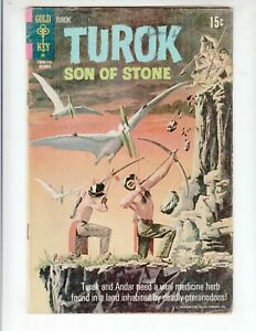 """Turok, Son of Stone 75 VG (4.0) 10/71 """"A Vision of Home!"""""""
