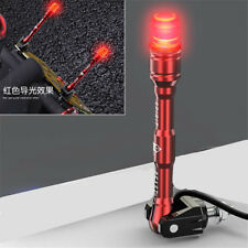 Red Aluminum LED Motorcycle Tail Beacon Light Rod Signal Lamp Decor Universal 1x