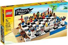 LEGO - PIRATE CHESS SET 40158 - 20 BULK PIRATES/BLUECOATS MINIFIGURES - NIB