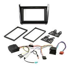 Doppel DIN Radio Blende Adapter CAN BUS Adapter VW POLO 6C schwarz hochglanz