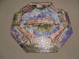 Vintage 1968 Springbok 500 Piece Okta-Puzzle Washington D.C Complete Rare