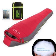 3-4 Season Autumn Winter Water Resistant Sleeping Bag Camping Travel Hiking UK