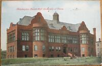 Philadelphia, PA 1909 Postcard: Dental Hall - University of Pennsylvania - Penn