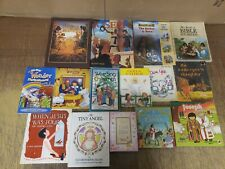Lot of 25 Christian Prayer Bible Jesus Story Children Kid Books MIX UNSORTED KB5