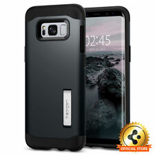 Spigen Galaxy S8 Plus Case Slim Armor Metal Slate