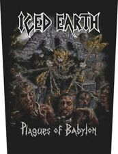 Iced Earth Plagues of Babylon Sew-On Back Patch 602419#