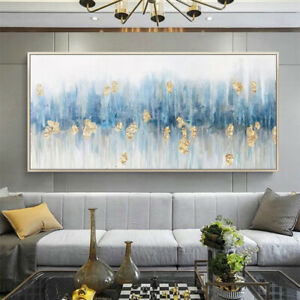 LL847 Modern large Hand-Painted Canvas abstract oil painting wall Decor Unframed