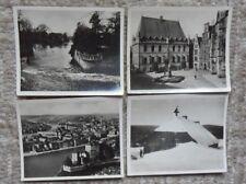 4 Sammelbilder Zigarettenbilder  Aus deutschen Gauen  von Monopol Dresden .