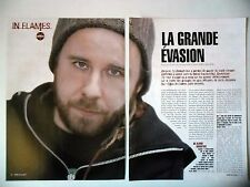 COUPURE DE PRESSE-CLIPPING :  IN FLAMES [6pages] 2004 Peter Iwens,Anders Friden