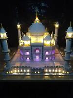New LED Lighting Kit for Lego Taj Mahal 10256 Also for 10189