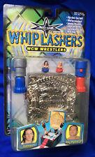 MOC WCW Wrestling Whiplashers - Rey Mysterio Vs Billy Kidman Action Toy Set WWE