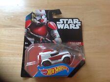 Star Wars Hot Wheels Clone Shock Trooper Character Cars Series #27 Mattel 2014