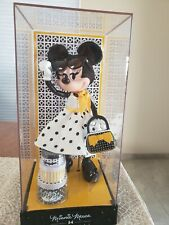 Disney Store Minnie Mouse Signature Collection Doll White dress & Polka Dots