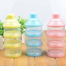 3 Layer Feeding Case Box Food Container Baby Milk Powder Formula Dispenser
