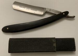 Rare Antique Straight Razor 'George Flatts & Son' - Sheffield Cut Throat England