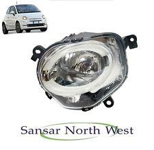 Fiat 500 - Passenger Side Front Spot Lamp DRL LED Headlamp High Beam  - N/S LEFT