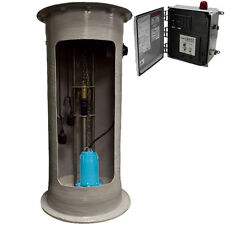 "Little Giant GP-SMPX2460 - 2 HP GP Series Simplex Grinder Pump System (24""x 6..."