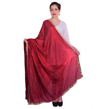 Wrap Indian Dupatta Wear Long Scarf Shawl Traditional Womens Scarves