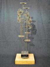 Vintage Joseph burlini 'escultura cinética con diseño del molinete