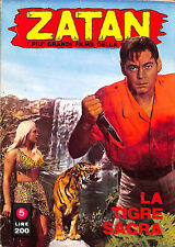 "[702] ZATAN ed. Ponzoni 1970 n.  5 ""La tigre sacra"" stato Ottimo"