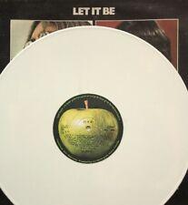 THE BEATLES -Let It Be- Rare UK White Vinyl Export LP (Vinyl Record)