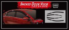 Smoke Weather Shields 6p for 07/2018 ~ 2019 KIA Cerato Sedan S Sports Sports+