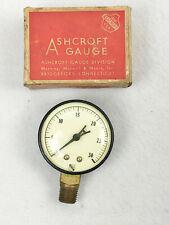 Vintage Ashcroft Gauge 0 30 2 18 Diameter No 1650 Untested