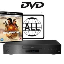 Panasonic DP-UB9000 DVD MultiRegion 4K UHD Player with Sicario 2 Soldado