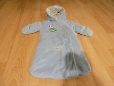 Infant Size 3-6 Months Carter's Blue Snowsuit Bunting Bag On The Move Dog Car