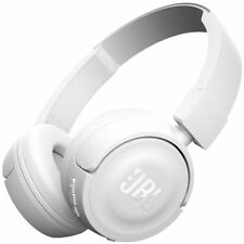 JBL Wireless On-ear Headphones White T450BT