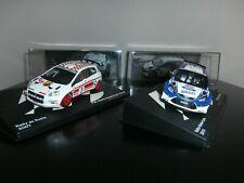 FORD FIESTA S 2000 Monté-Carlo 2010+ FIAT PUNTO S 2000 Ral. de Russie 2007 1/43e