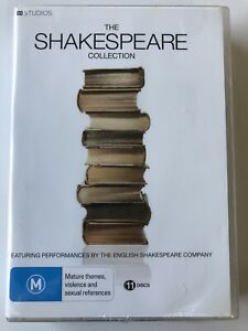 The Shakespeare Collection- English Shakespeare Company (DVD, 11-Disc) NEW RARE